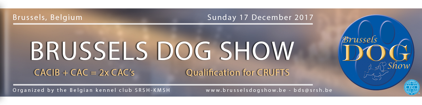 Brussels Dog Show - Sunday 17/12/2017